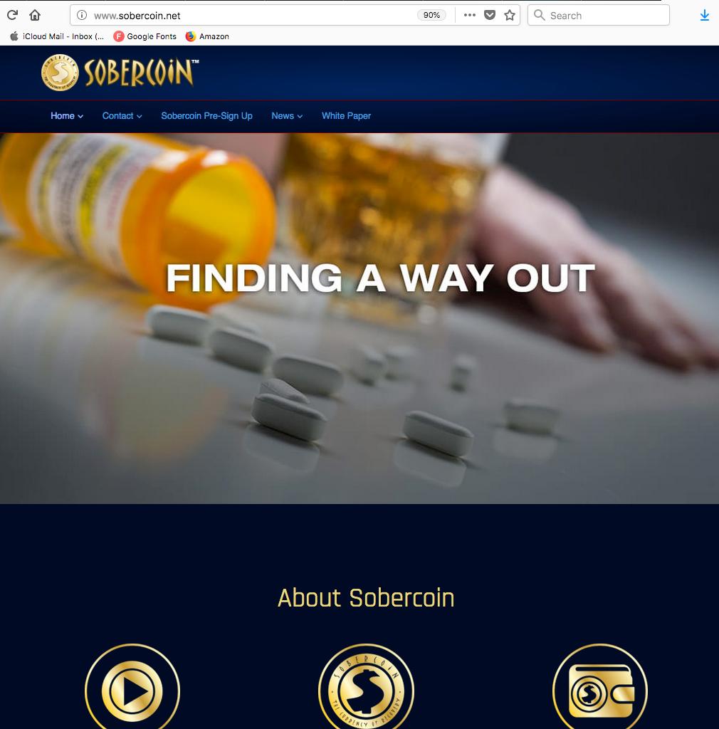 SOBERCOIN WEBSITE