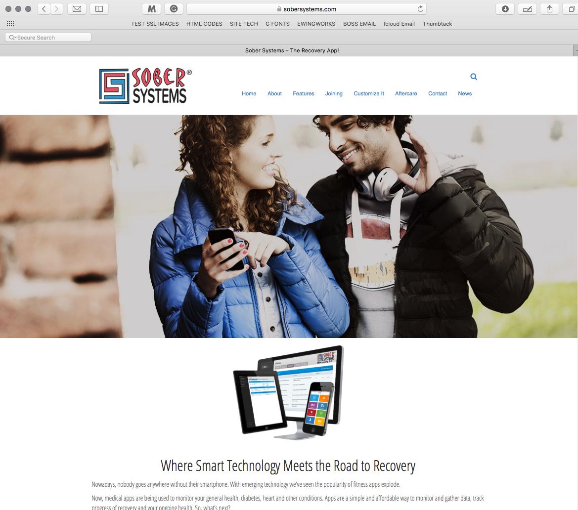 SoberSystems.com Website
